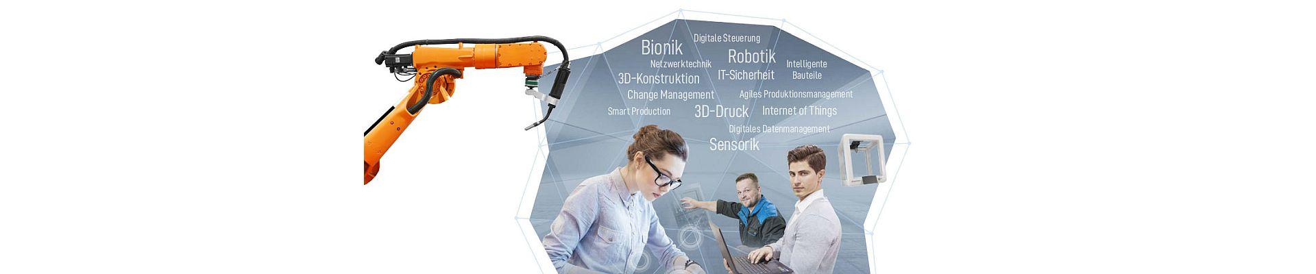 Produktionstechnik und Datenmanagement
